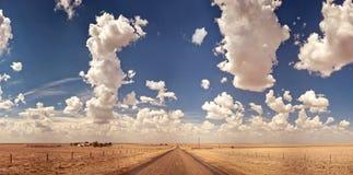 kraj autostrada Zdjęcie Royalty Free