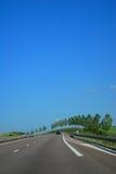 kraj autostrada Obrazy Royalty Free