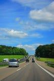 kraj autostrada Zdjęcia Royalty Free