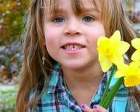Kraj dziewczyny 5 fotografia stock