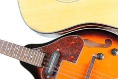 Kraj gitara i mandolina Obrazy Stock