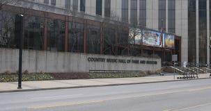 Kraj hala koncertowa sława i muzeum, Nashville, Tennessee 4K zbiory wideo