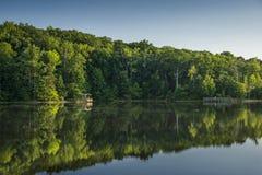 Kraj jezioro Obrazy Royalty Free