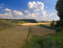 kraj krajobrazu Obraz Royalty Free