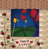 Kraj miłość ilustracji