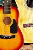 kraj na gitarze Obrazy Stock