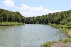 Kraj rzeka Fotografia Stock