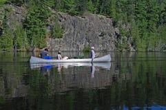 kraj spokojne kajakowe wody zdjęcia stock
