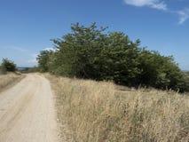 kraj zakurzona road zdjęcie royalty free