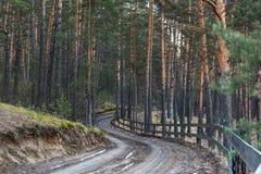 Kraj ziemska droga Obraz Stock