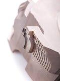 Krajacz dla drewnianego przerobu, makro- fotografia krajacze zamyka zdjęcie royalty free
