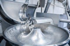 Krajacz Przemysłowy krajacz dla szlifierskiego mięsa Fabryka dla pro Zdjęcie Stock