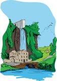 krajobraz royalty ilustracja