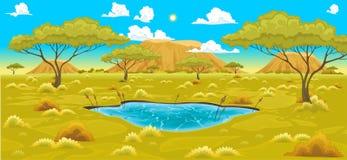 krajobraz afryki