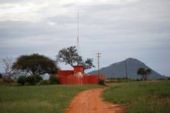 krajobraz afryki Zdjęcie Stock