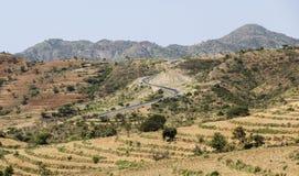 krajobraz afryki Omo dolina Etiopia Fotografia Royalty Free