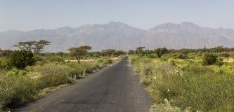 krajobraz afryki Omo dolina Etiopia Zdjęcia Stock