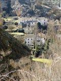 Krajobraz Alhama de Granada Zdjęcia Stock