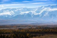 Krajobraz Altai góry Altai republika Zdjęcia Royalty Free