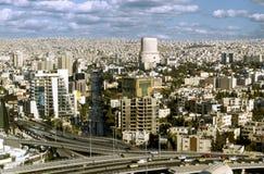 krajobraz Amman miasta kapitał Jordan Obrazy Stock