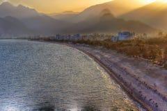 Krajobraz Antalya plaża Zdjęcie Royalty Free