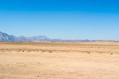 Krajobraz Arabska pustynia Fotografia Stock