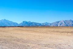 Krajobraz Arabska pustynia Obraz Stock