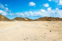Krajobraz Arabska pustynia Obraz Royalty Free