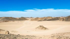 Krajobraz Arabska pustynia Fotografia Royalty Free