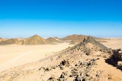 Krajobraz Arabska pustynia Zdjęcie Royalty Free