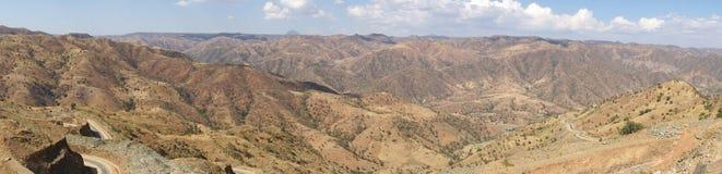 Krajobraz, Axum, Etiopia, Afryka Obrazy Stock