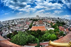 Krajobraz Bangkok Zdjęcie Stock