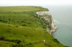 Krajobraz Białe falezy Dover obraz royalty free