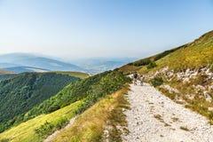 Krajobraz blisko Fabriano Włochy obraz royalty free