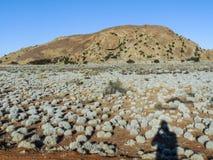 Krajobraz blisko Helmeringhausen w Namibia Obrazy Royalty Free