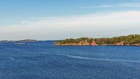 Krajobraz blisko Nynashamn Zdjęcia Royalty Free