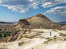 Krajobraz Cappadocia Obrazy Royalty Free