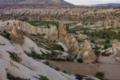 Krajobraz Cappadocia fotografia royalty free