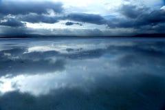 Krajobraz Chaka Salt Lake Fotografia Stock