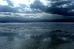 Krajobraz Chaka Salt Lake Fotografia Royalty Free