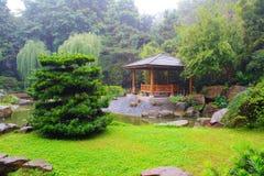 Krajobraz chińczyka park. Obrazy Royalty Free