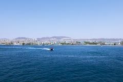 Krajobraz Czerwony morze Obraz Royalty Free