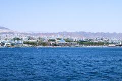 Krajobraz Czerwony morze Fotografia Stock