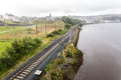 Krajobraz Derry zdjęcia stock