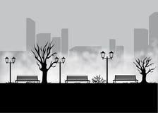 Krajobraz dla gry Tło dla gry Bezszwowy kreskówka krajobraz bez końca tło Fotografia Stock
