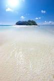 Krajobraz dzika wyspa Zdjęcia Royalty Free