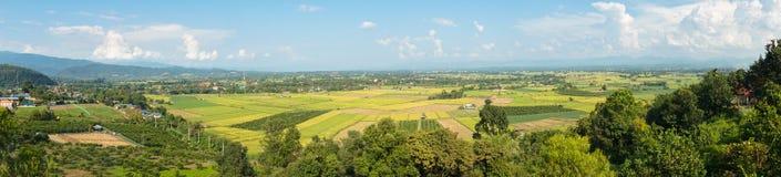 Krajobraz Fang okręg w Tajlandia zdjęcia royalty free