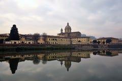 Krajobraz Florence, Italy Fotografia Stock