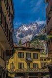 Krajobraz Francuscy Alps w Rhone Alpes zdjęcia stock