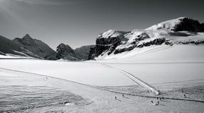Krajobraz góra Obrazy Royalty Free